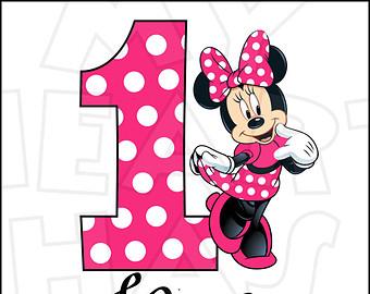 340x270 Minnie Mouse Birthday Clip Art