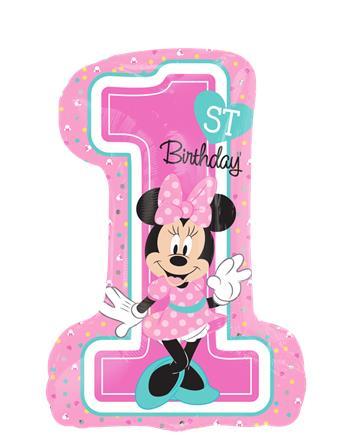 345x440 Minnie Mouse 1st Birthday