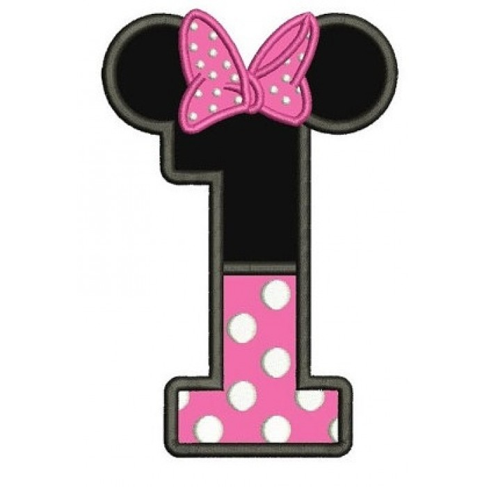 Minnie Mouse 1st Birthday Clipart | Free download on ...