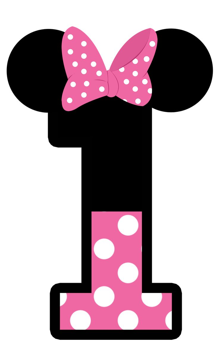 736x1171 Number Clipart Minnie Mouse