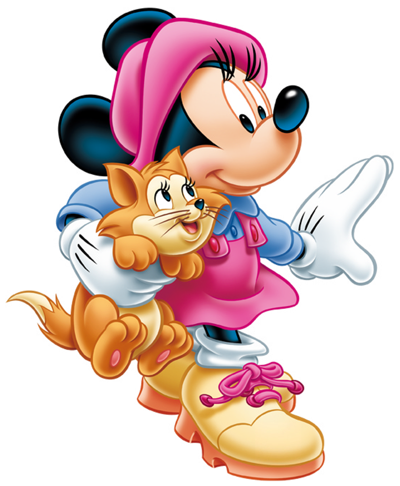 Minnie Mouse Birthday Clipart | Free download on ClipArtMag