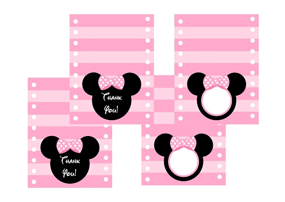 580x410 Free Pink Minnie Mouse Birthday Party Printables Catch My Party