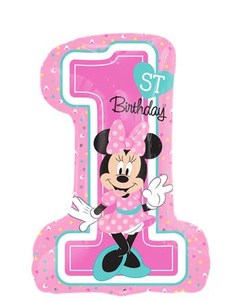345x440 Minnie Mouse 1st Birthday Party Supplies Woodies Party