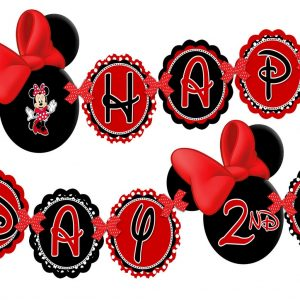 300x300 Inspirational Kumpulan Free Printable Minnie Mouse Birthday Banner