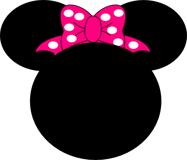 600x514 Mickey Ears Clip Art