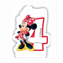 265x265 No7 Disney Minnie Mouse Birthday Candles