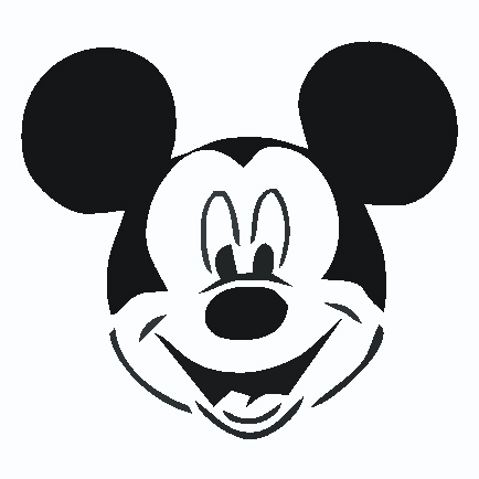 434x434 Mouse Face Clipart
