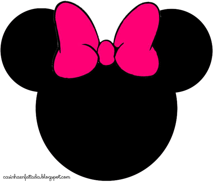 830x712 Minnie Mouse Silhouette Clip Art