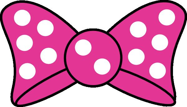 600x342 Minnie Bow Clip Art