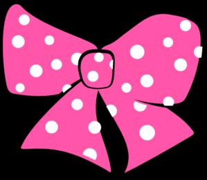 299x261 Minnie Mouse Bow Clip Art