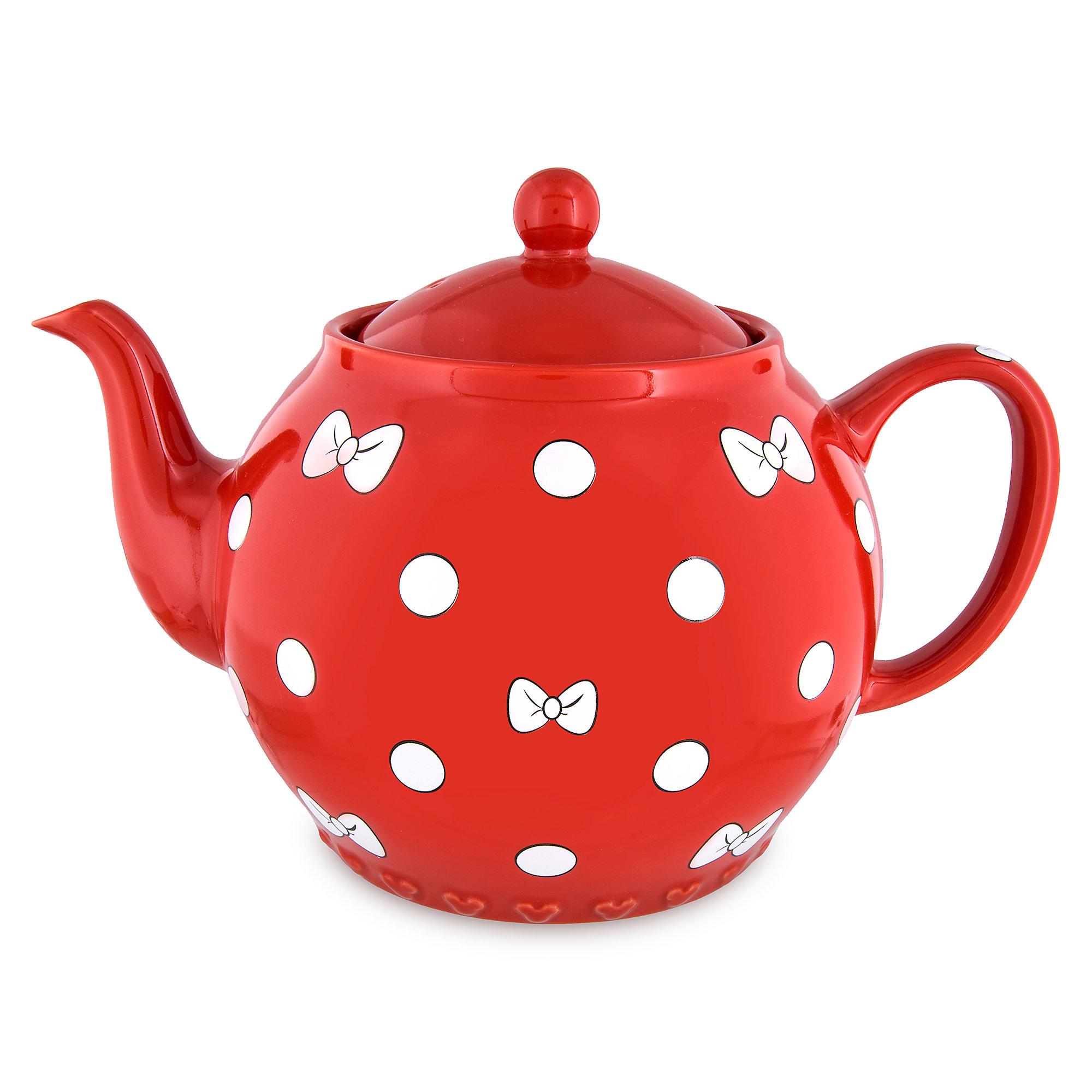2000x2000 Minnie Mouse Bow Teapot Shopdisney