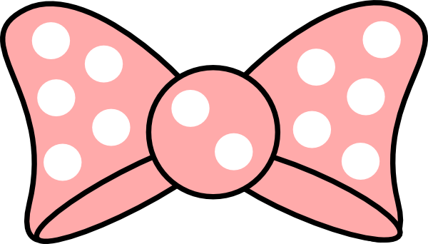 600x342 Pink Minnie Mouse Bow Cut Outs From Clipart 2