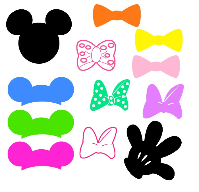 700x675 Mickey Mouse Glove Clip Art