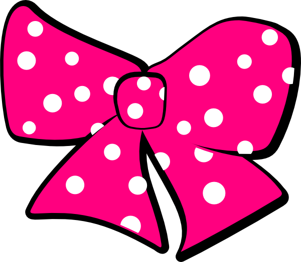 600x524 Minnie Mouse Bow Clipart