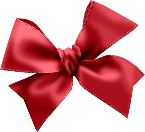 500x457 Red Bow Clipart