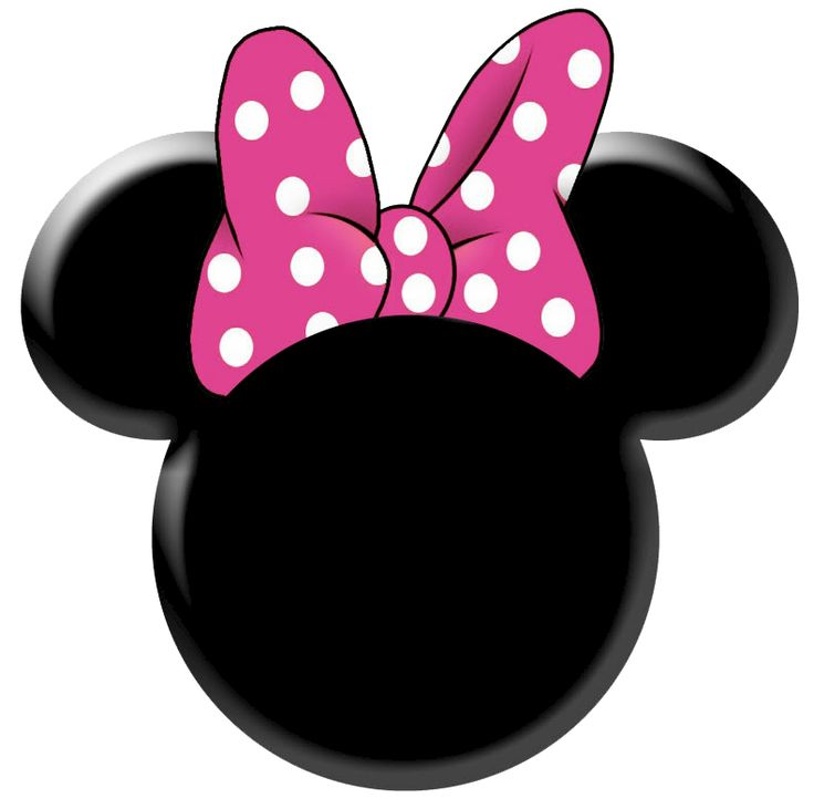 736x731 Minnie Mouse Face Clipart Outline
