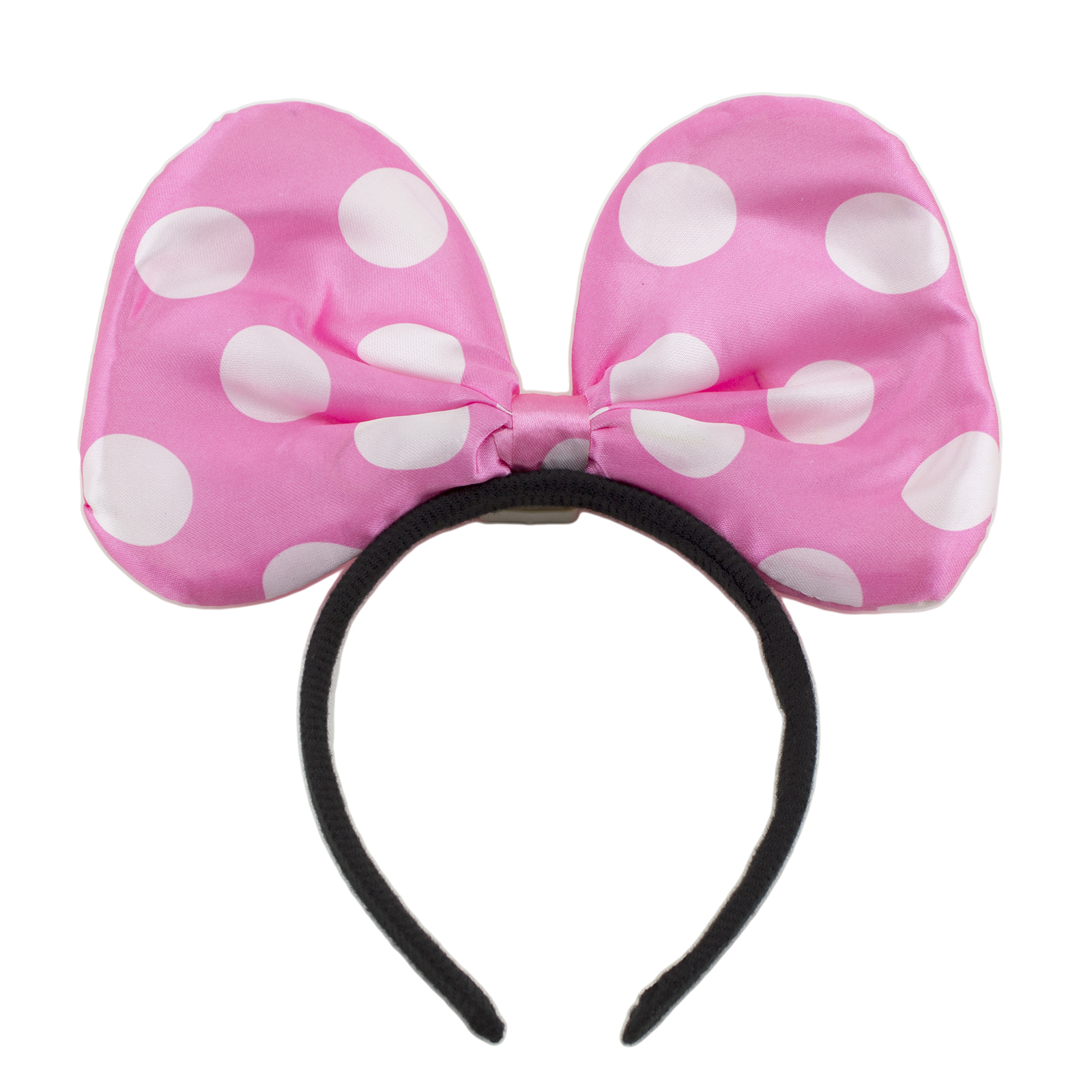 1600x1600 Light Up Minnie Mickey Mouse Bows Polka Dots Headbands Multi Color