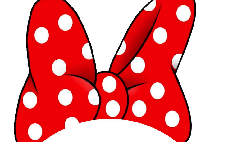 734x458 Minnie Mouse Ears And Bow Clipart
