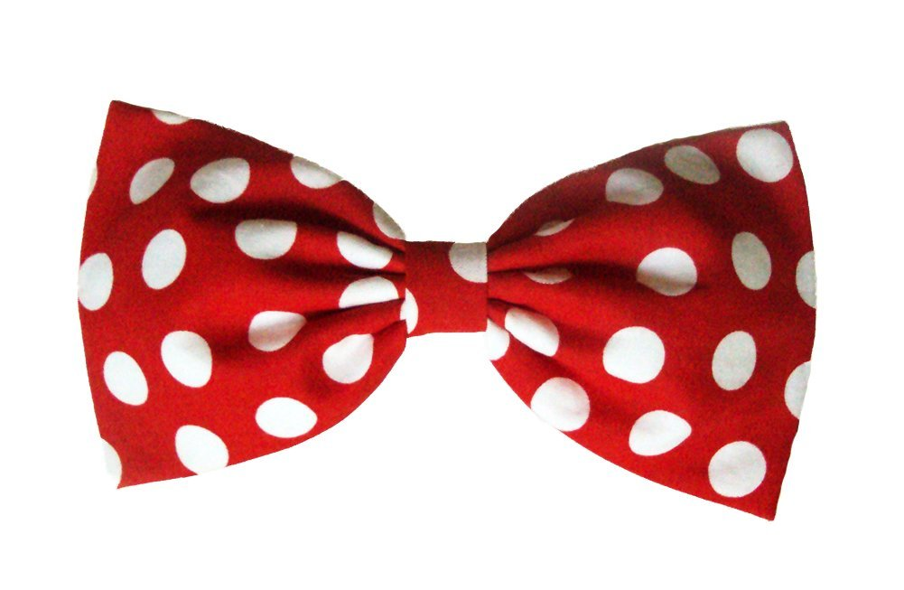 1001x653 Polka Dots Hair Bow Collection (Red Minnie Mouse