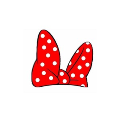 400x400 Minnie Mouse Bow Clipart
