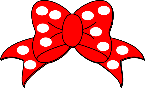 600x366 Minnie Mouse Bow Clip Art Free Clipart Images