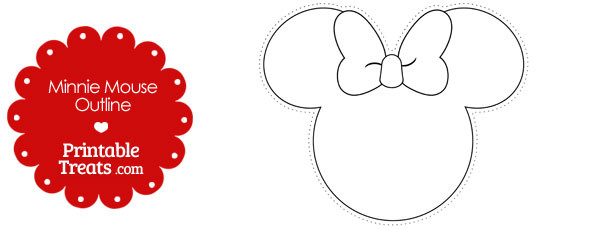 graphic relating to Printable Minnie Mouse Bow identify Minnie Mouse Bow Determine Totally free down load great Minnie Mouse