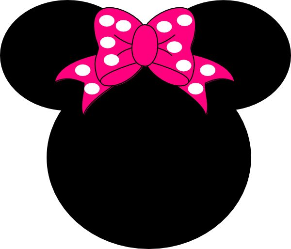 600x514 The Best Minnie Mouse Outline Ideas Minnie