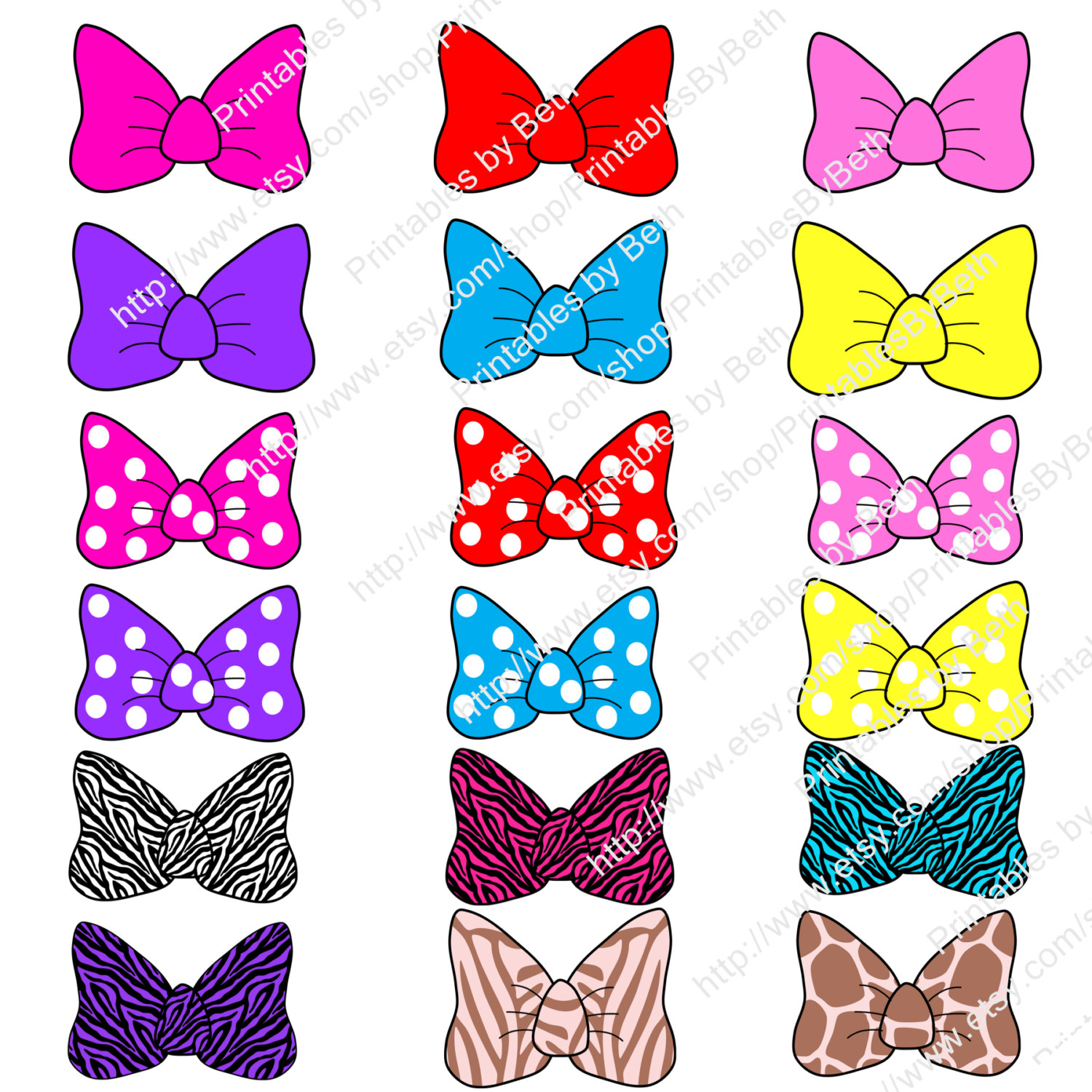 photograph regarding Printable Minnie Mouse Bows referred to as Minnie Mouse Bow Template Clipart No cost down load least complicated