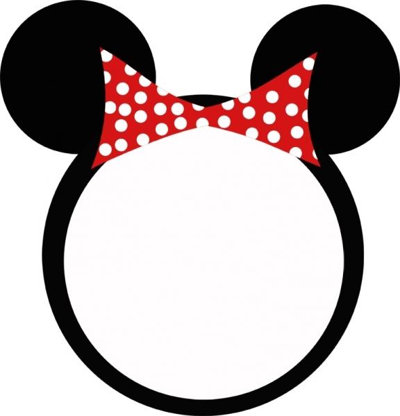 576x600 Headband Clipart Minnie Mouse