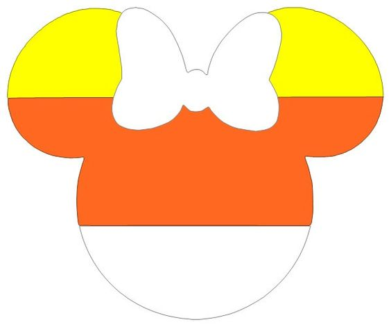 564x471 Disney minnie mouse halloween candy corn clip art mickey ears