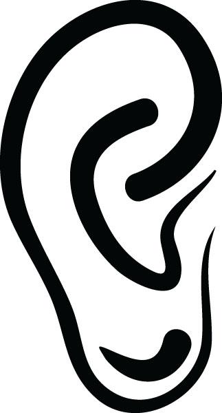 323x600 Ear Free Clip Art Blog Clipart