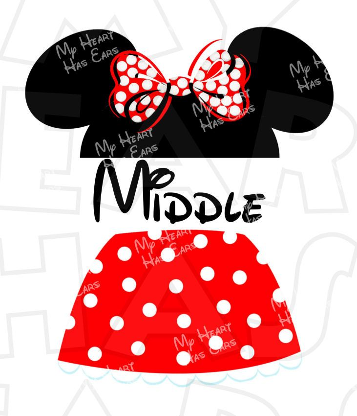 Minnie Mouse Ears Clipart