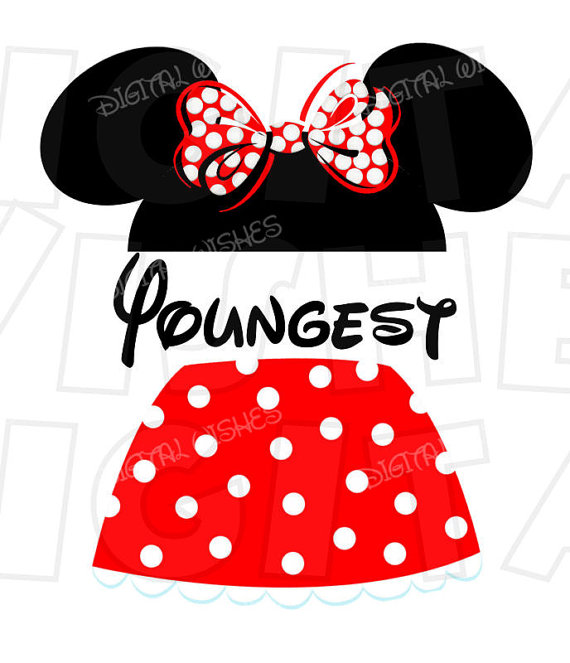570x663 Mickey Mouse Ears With Pants Oldest Child Digital Iron