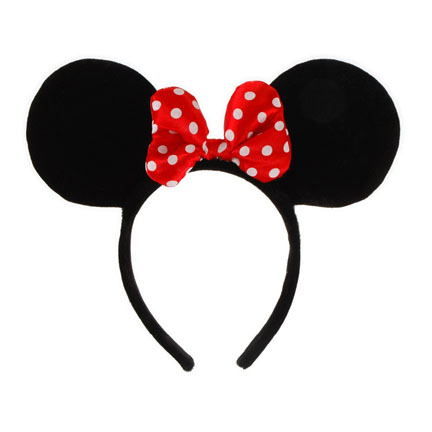 432x432 Minnie Mouse Ears With Red Bow