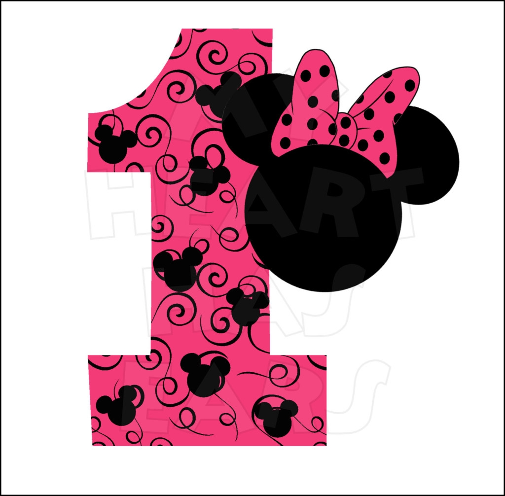 1024x1006 Minnie Mouse Happy Birthday Clipart