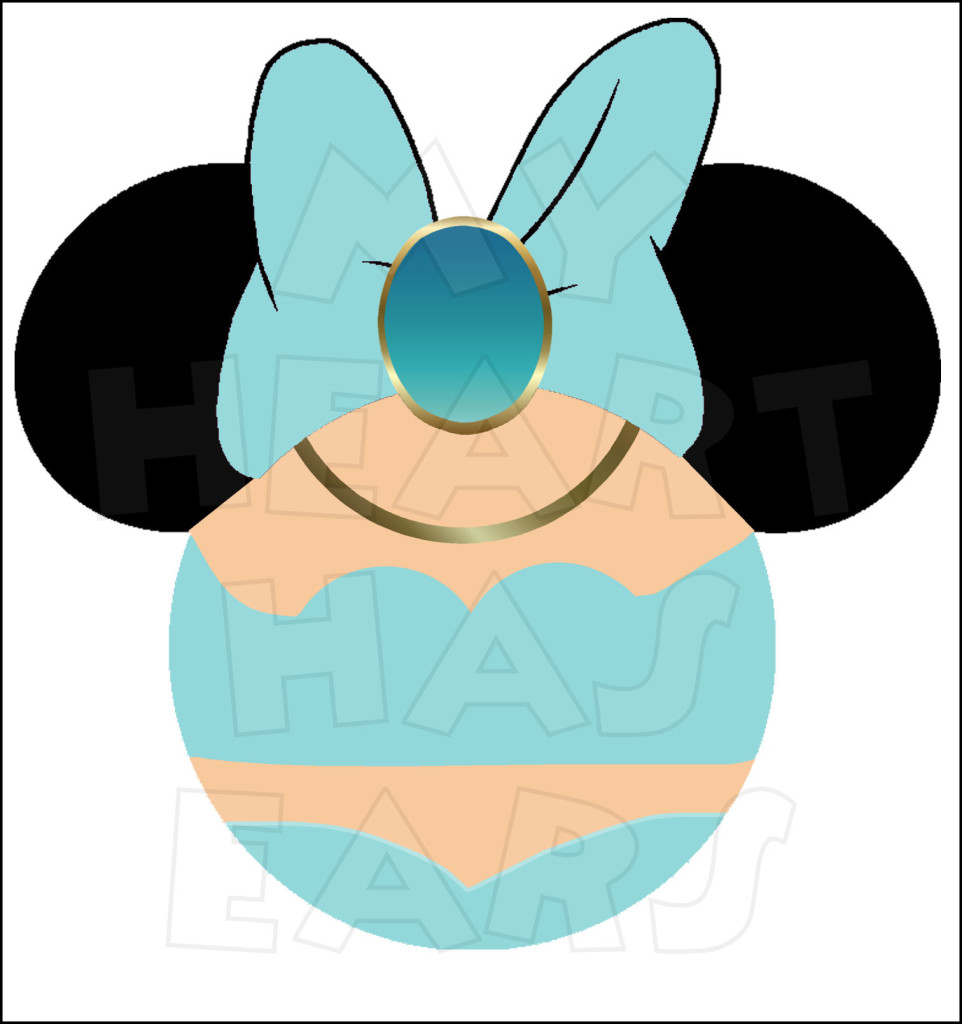 962x1024 Minnie Mouse dressed as Princess Jasmine INSTANT DOWNLOAD digital