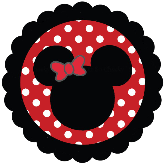 549x549 Minnie Mouse Silhouette Clip Art
