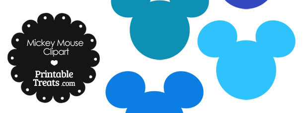 610x229 Free Mickey Head Clip Art