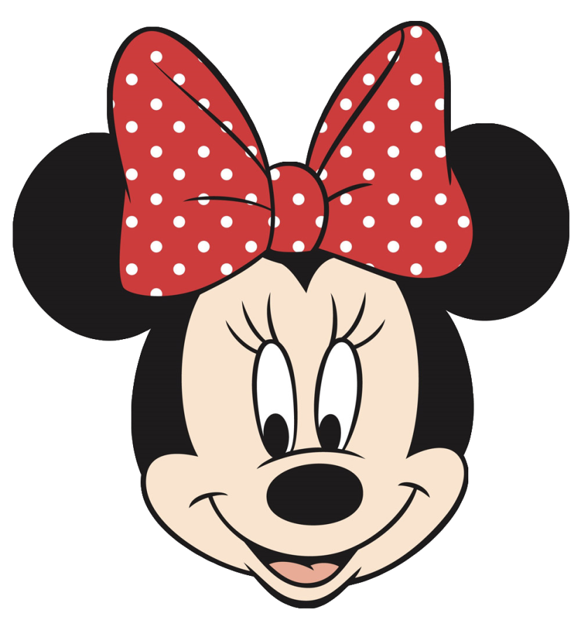 830x895 Minnie Mouse Head