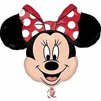 355x355 Disney Minnie Mouse Head Polka Dot Bow 28 Birthday