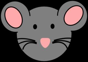 298x210 Mouse Face Clipart