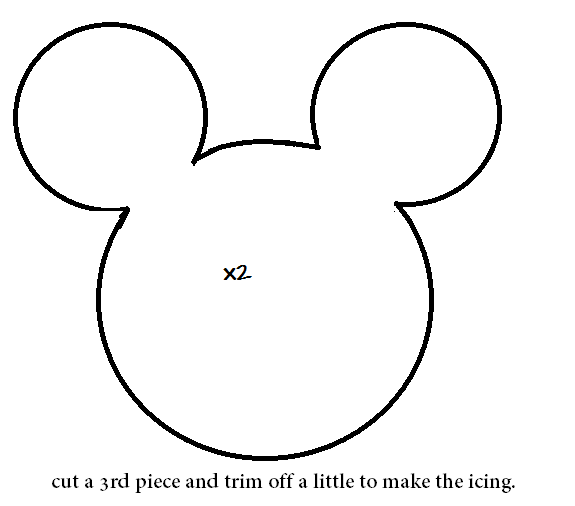 Minnie Mouse Head Outline