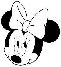 214x236 Draw Minnie Mouse Minnie Mouse, Mice And Face Template