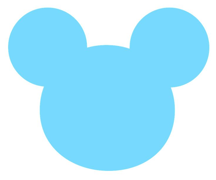 736x611 Mice Clipart Blue