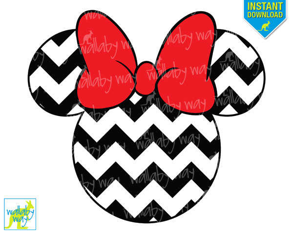 600x480 Minnie Mouse Zebra Clip Art 39