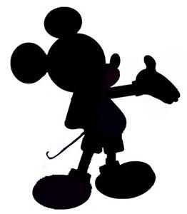 262x300 Best Mickey Silhouette Ideas Mickey Mouse