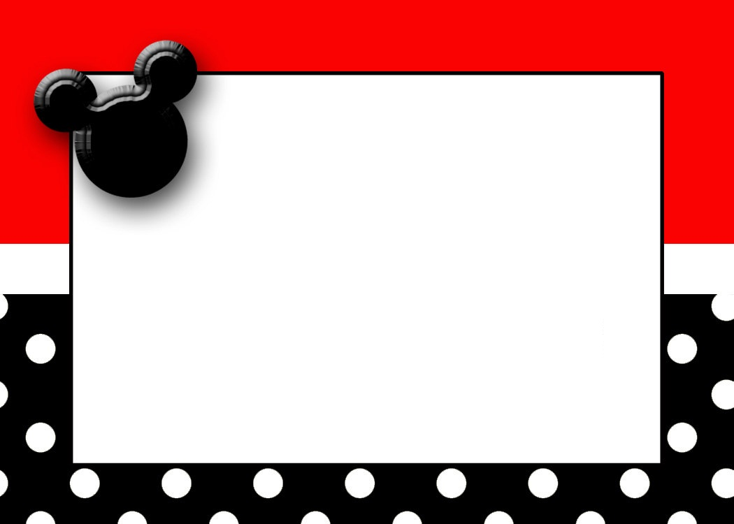 1050x750 Best Photos Of Mickey Mouse Printable Template