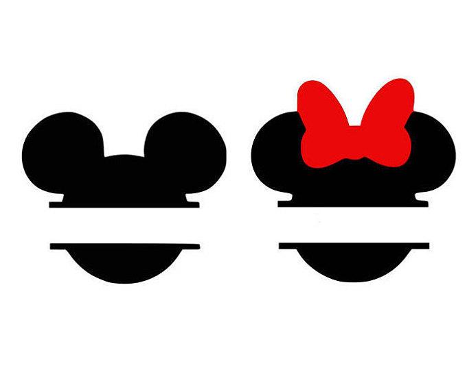 680x540 Mickey Monogram Svg, Minnie Monogram, Disney Svg, Cartoon Svg