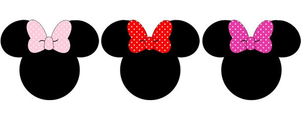 610x229 99 Colors Minnie Mouse Polka Dot Clipart Collection