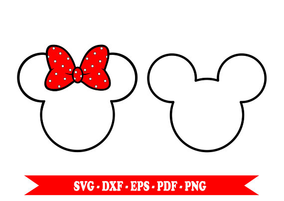 Minnie Mouse Outline   Free download best Minnie Mouse Outline on ...